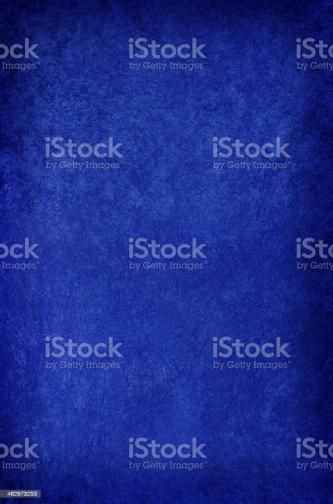 Blue crushed velvet background, vertical with vignette. stock photo