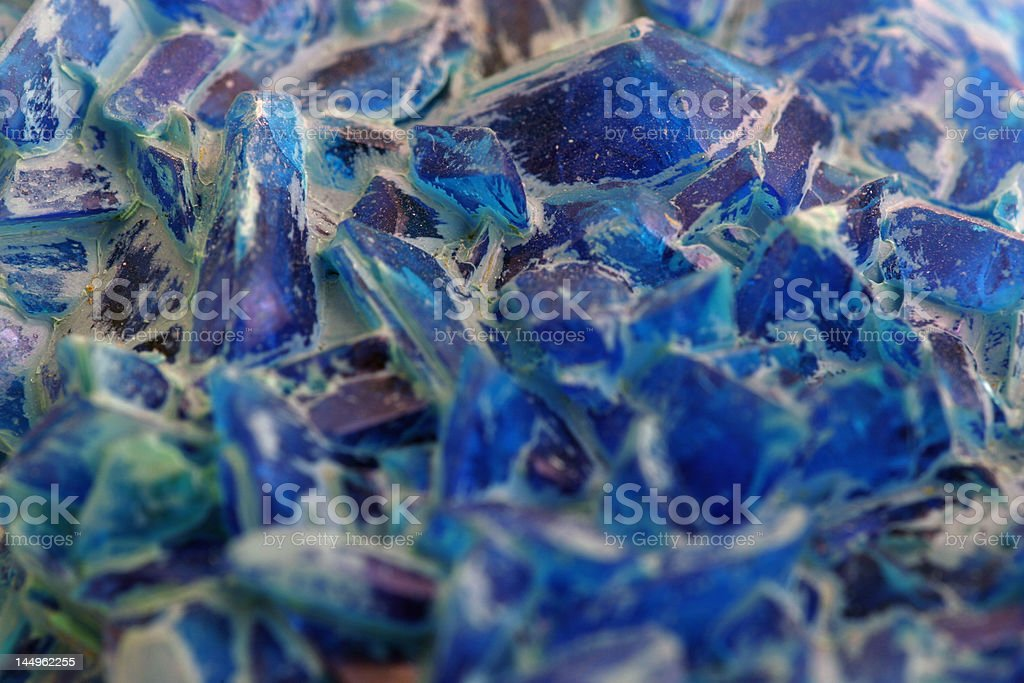 blue crystal royalty-free stock photo