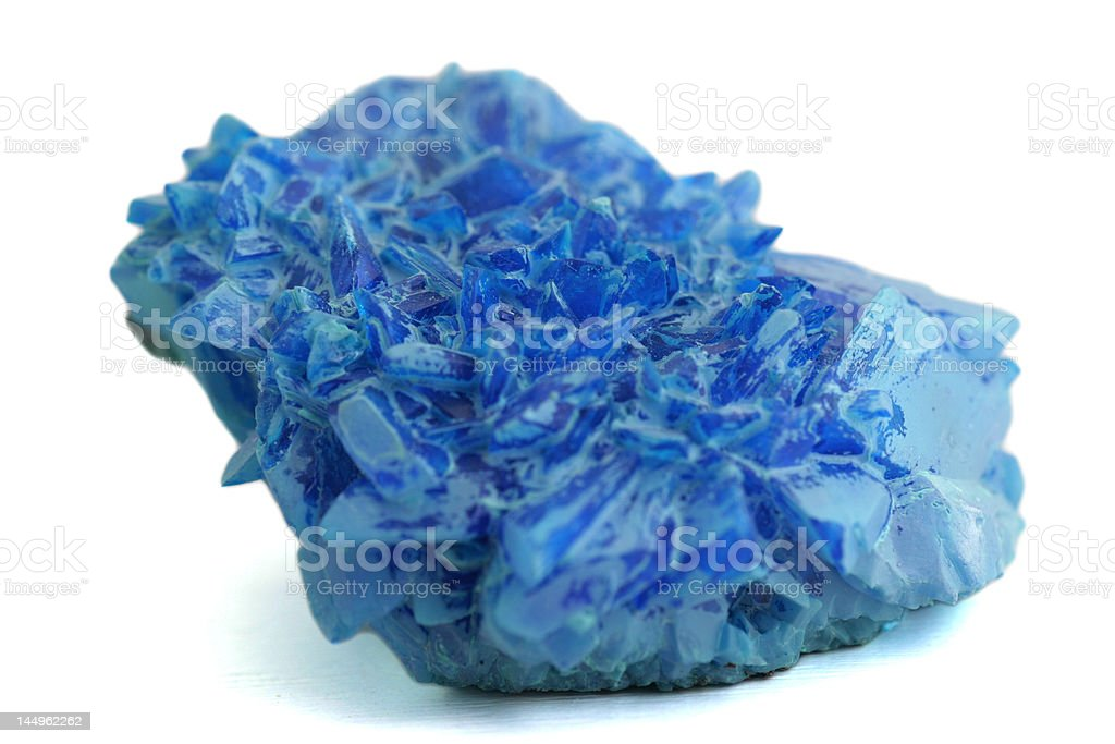 blue crystal2 royalty-free stock photo