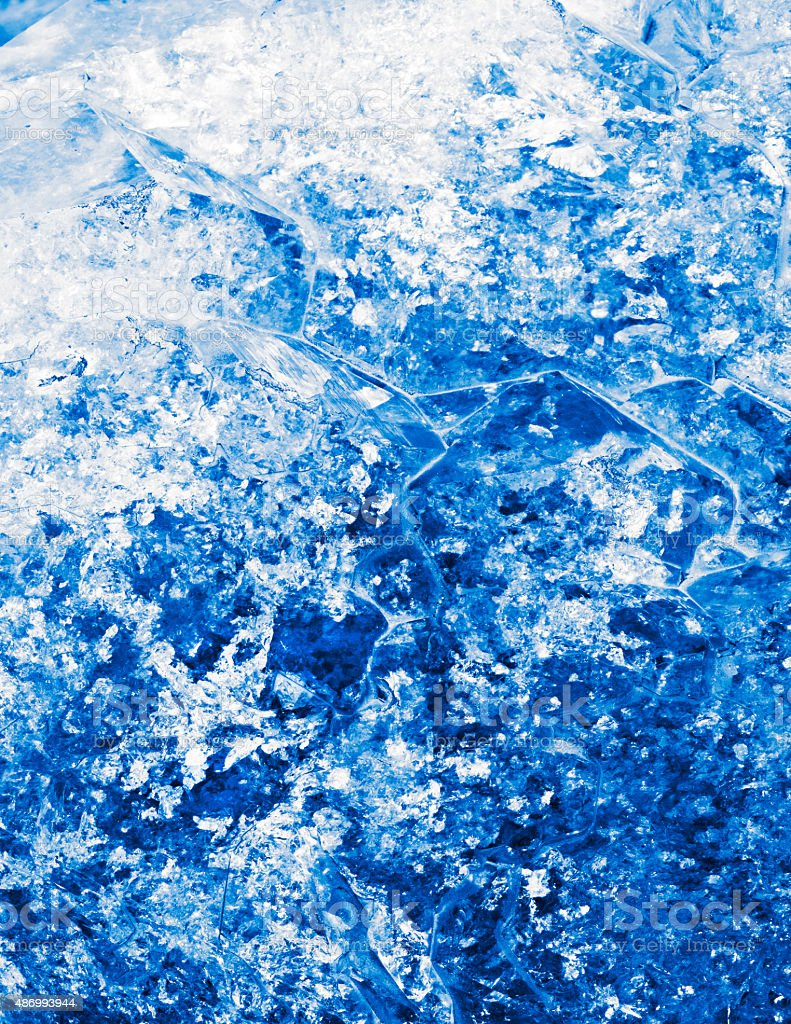 blue crystallization stock photo