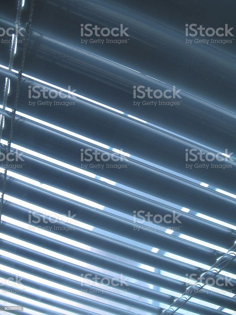 blue curtain royalty-free stock photo
