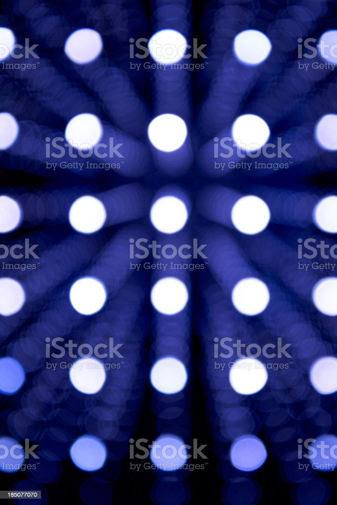 Blue defocused Background lights royalty-free stock photo