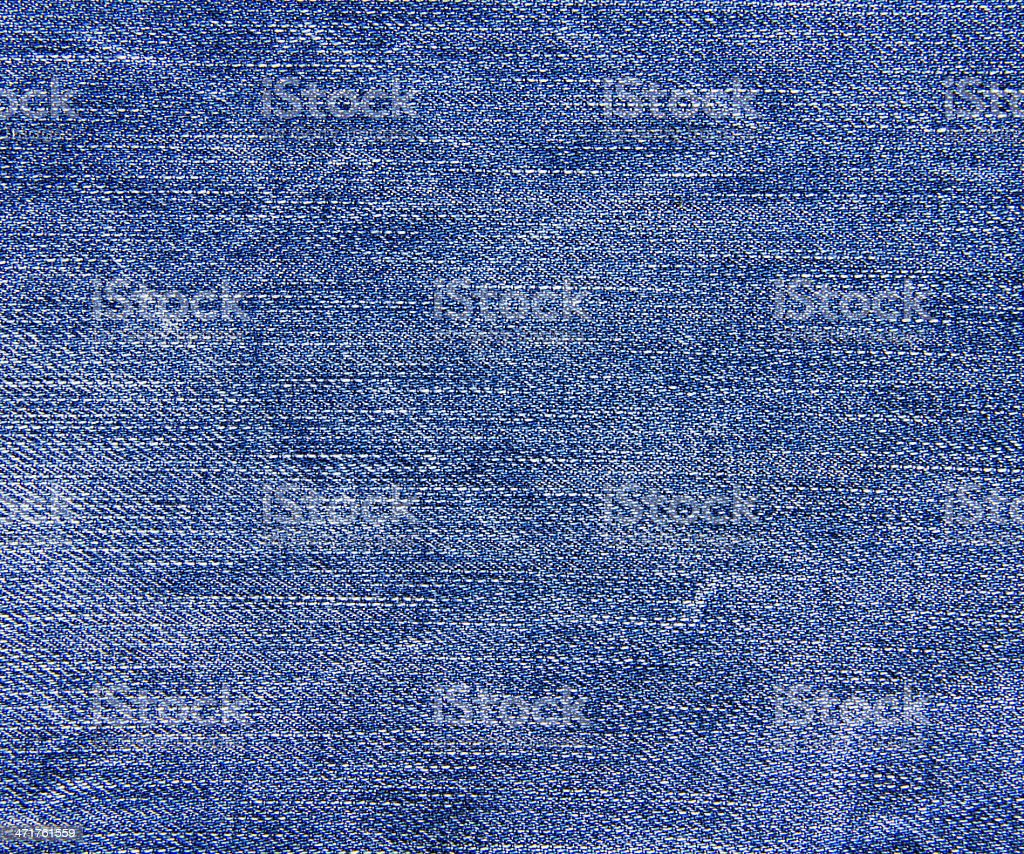 Blue denim jeans texture, background royalty-free stock photo