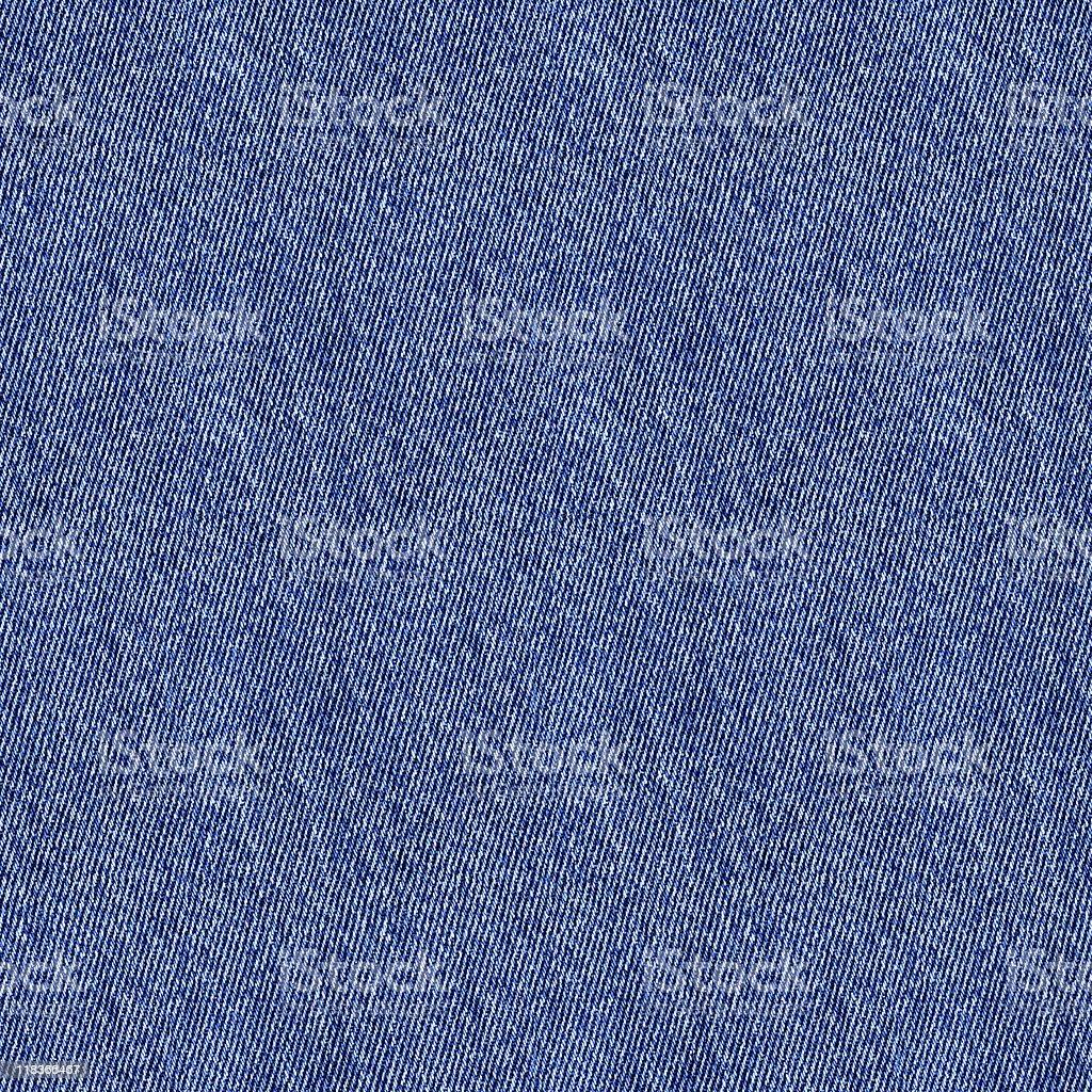 Blue denim seamless texture background royalty-free stock photo