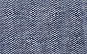 Blue denim textile macro photo