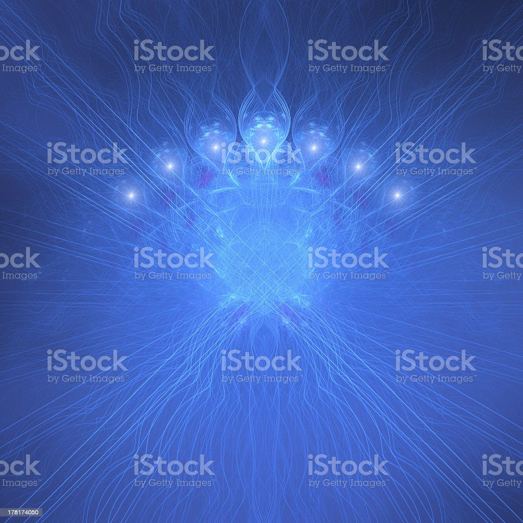 Blue Design royalty-free stock photo