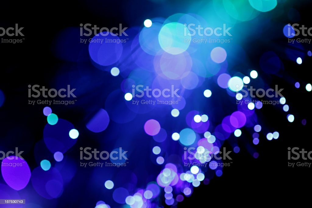 Blue Diagonal Light Burst royalty-free stock photo