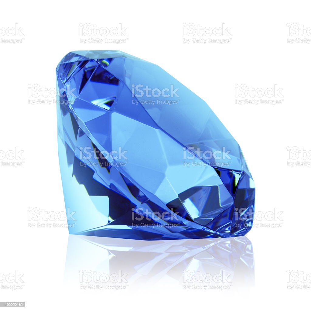 blue diamond stock photo