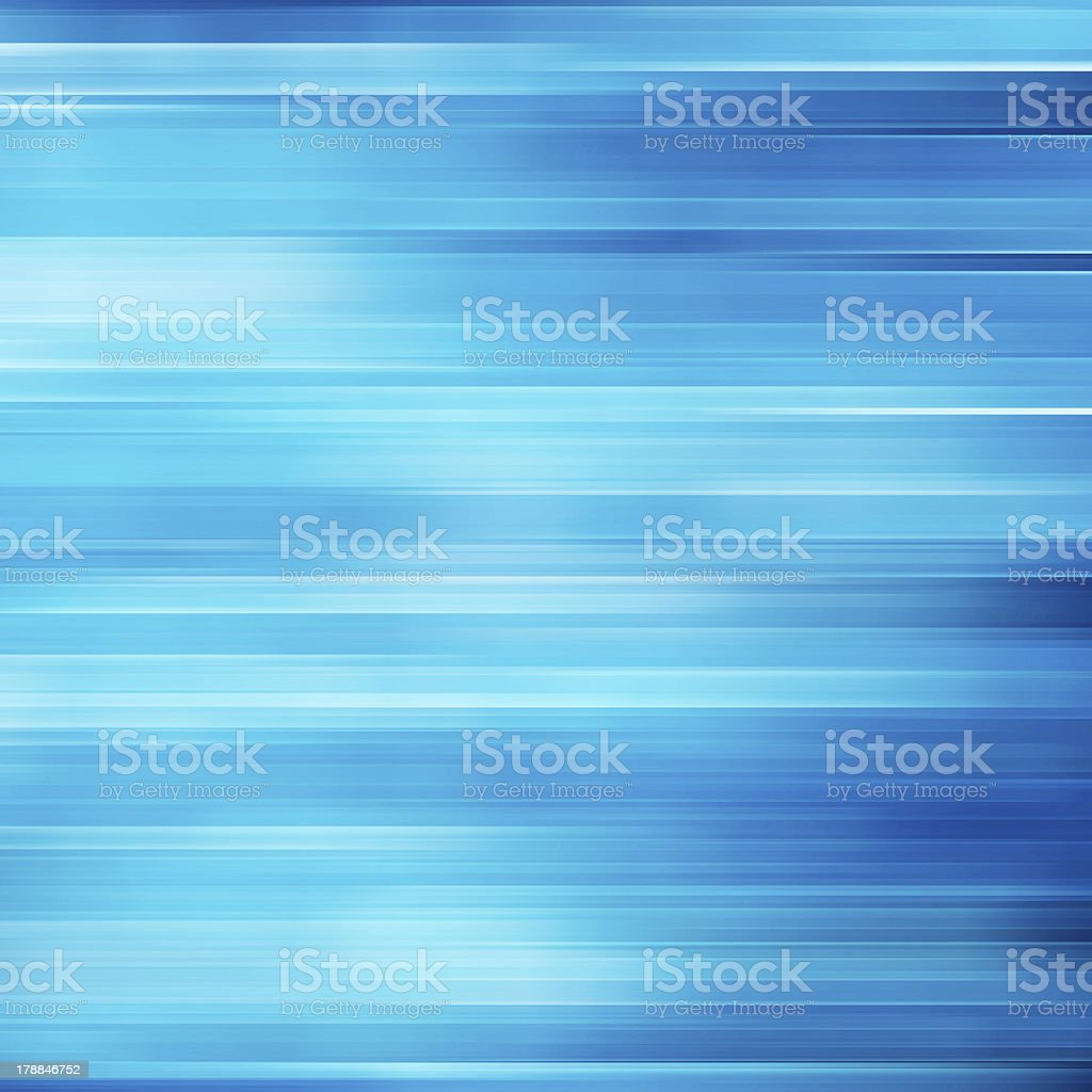 A blue, digital, abstract background depicting motion stock photo