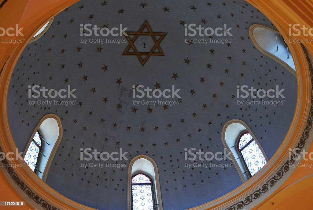 Blue Dome of the Star royalty-free stock photo