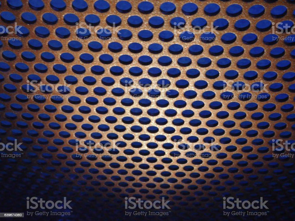 Blue Dot Pattern stock photo
