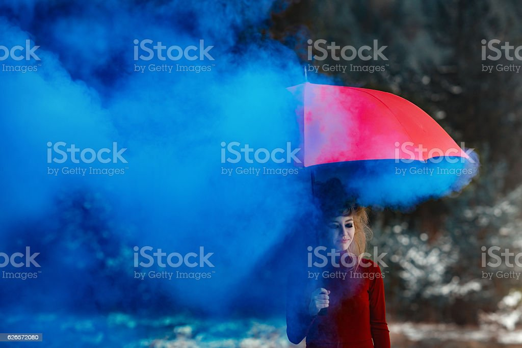 blue dreams stock photo