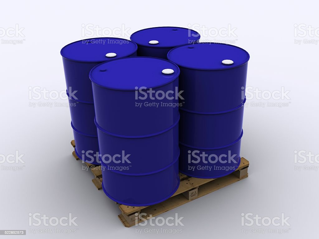 blue drums stock photo