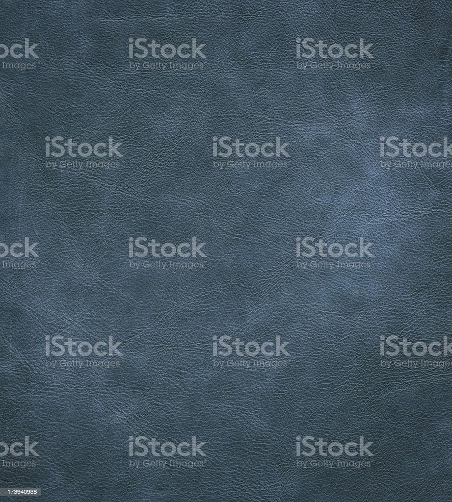 blue dyed leather royalty-free stock photo