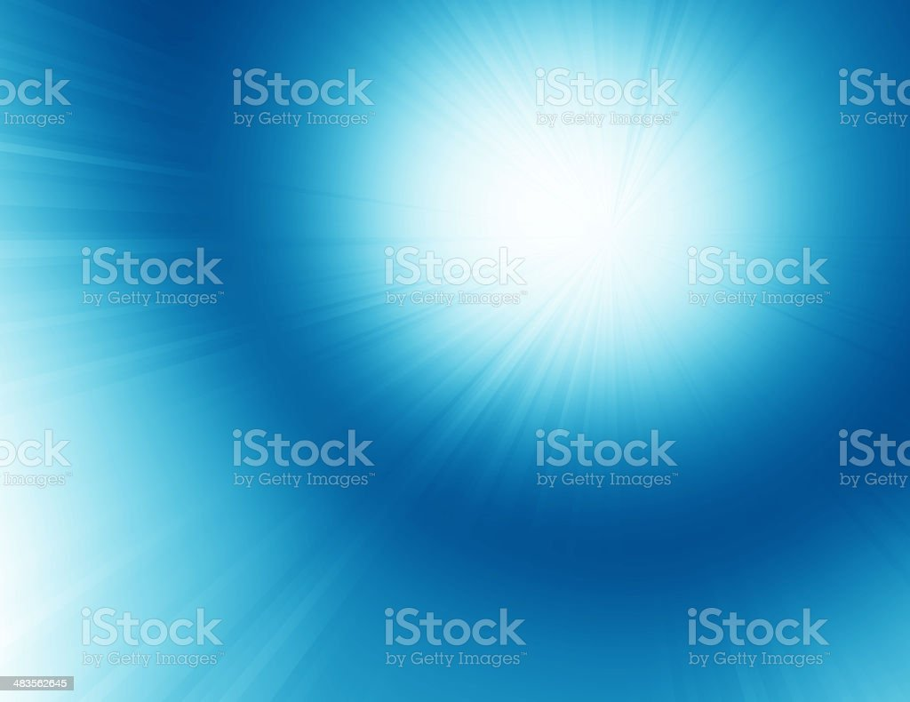 Blue Energy royalty-free stock photo