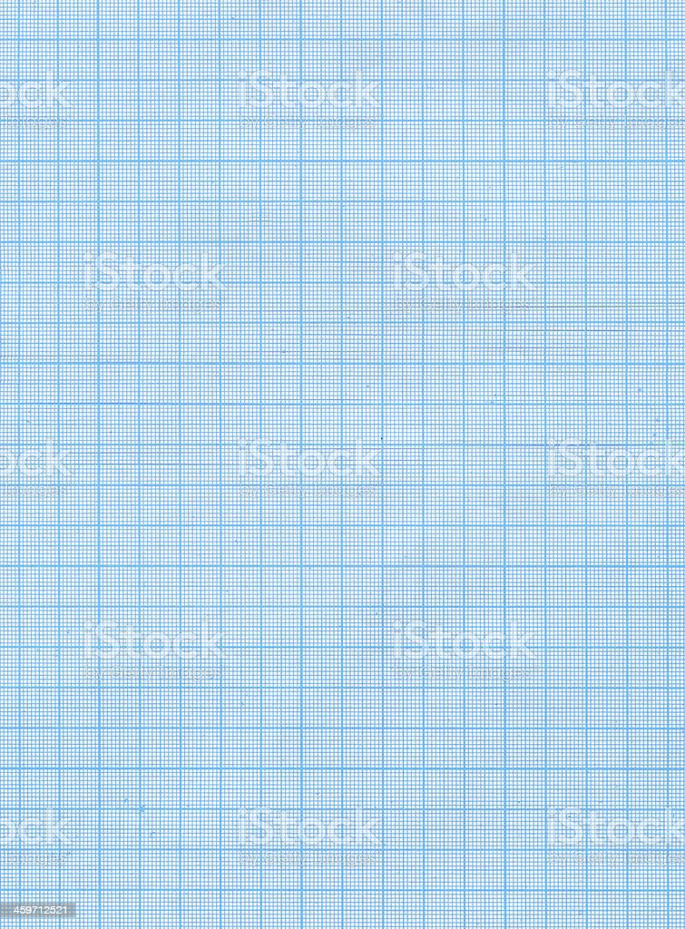 blue engineering graph paper royalty-free stock photo