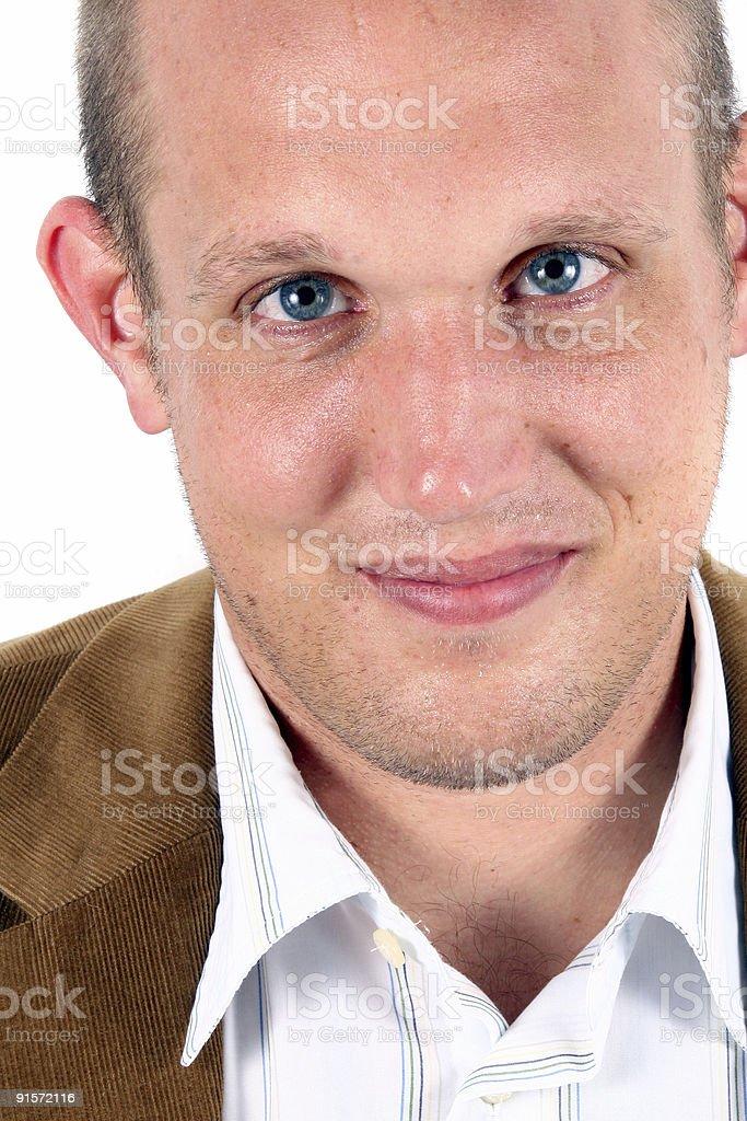 Blue Eyed Businessman royalty-free stock photo