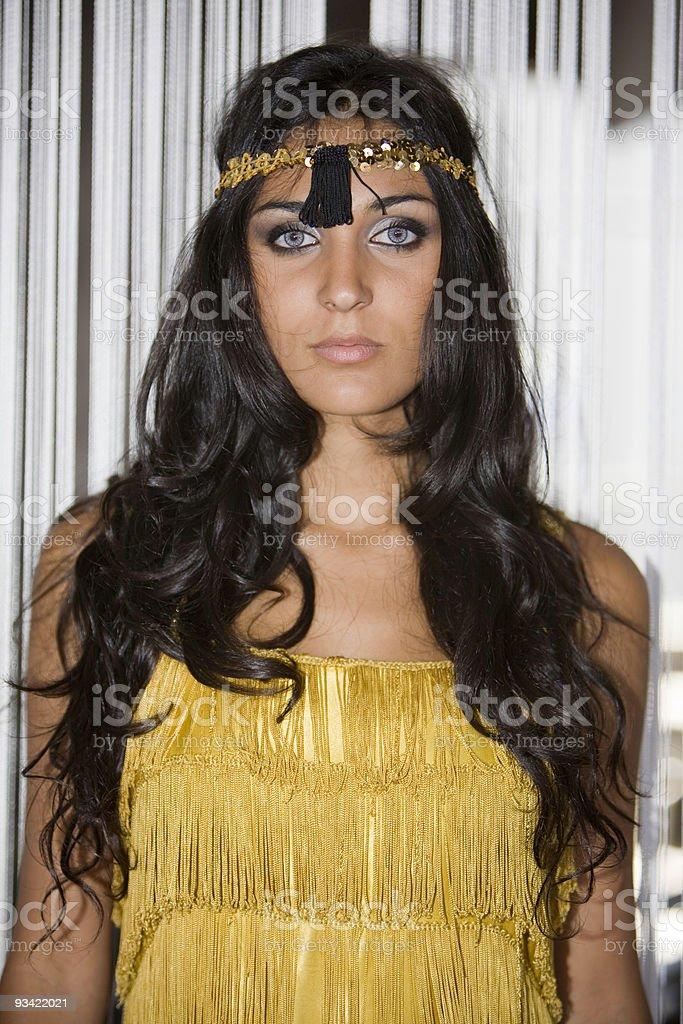 Blue Eyed Girl royalty-free stock photo