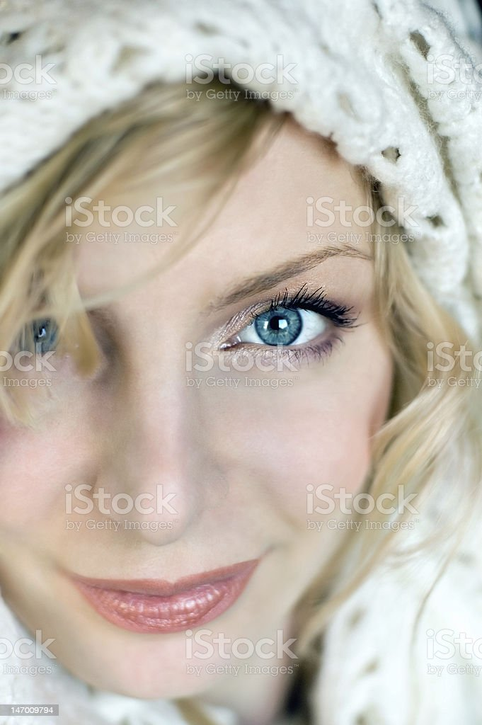 Blue eyes royalty-free stock photo