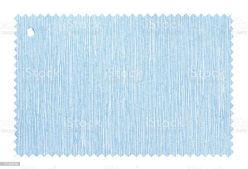 Blue Fabric Swatch background textured royalty-free stock photo