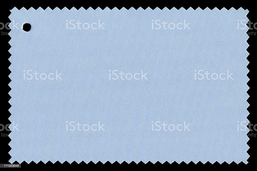 Blue Fabric Swatch textured background royalty-free stock photo