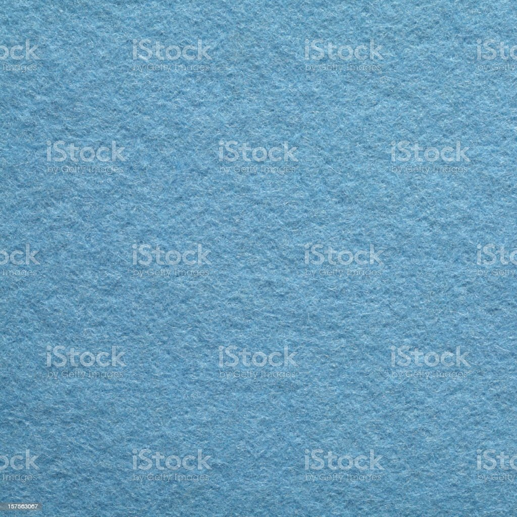Blue Felt Background royalty-free stock photo