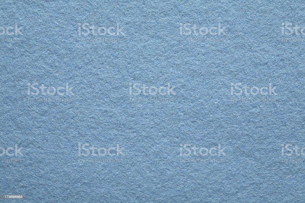 Blue Felt Background royalty-free stock photo