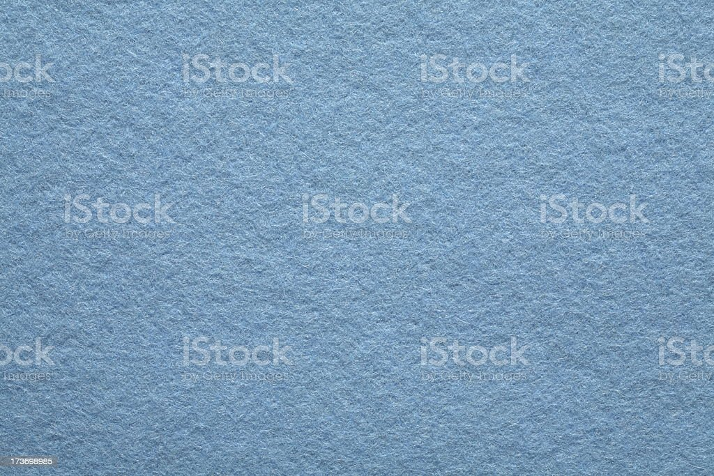 Blue Felt Background stock photo
