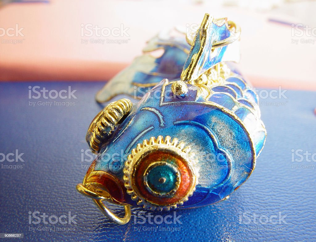 Blue Fish royalty-free stock photo