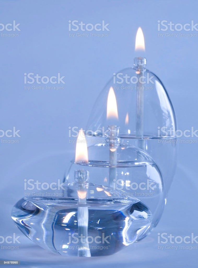 Blue Flame royalty-free stock photo