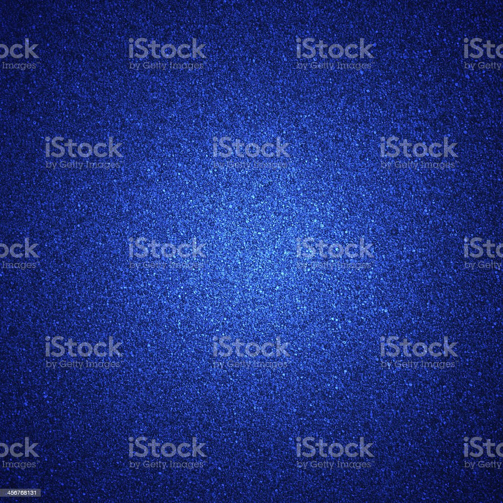Blue foam with glitter background stock photo