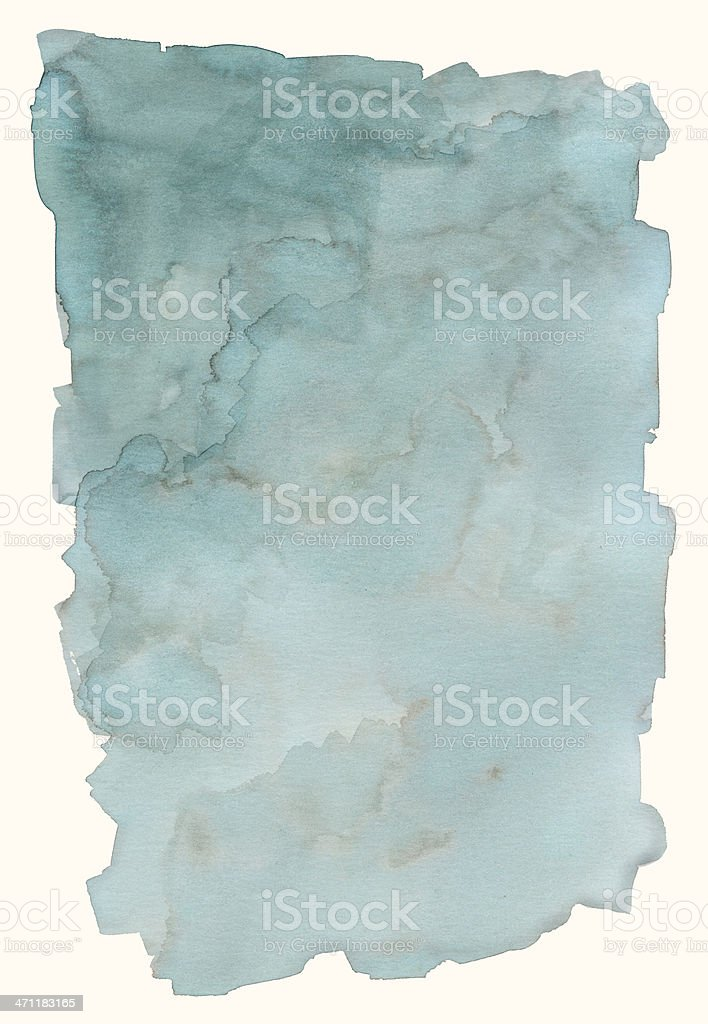 Blue Fog Frame royalty-free stock photo