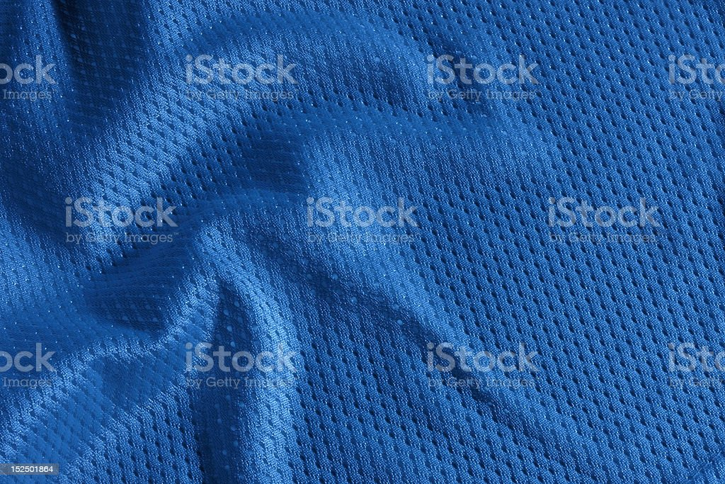 Blue football Jersey stock photo