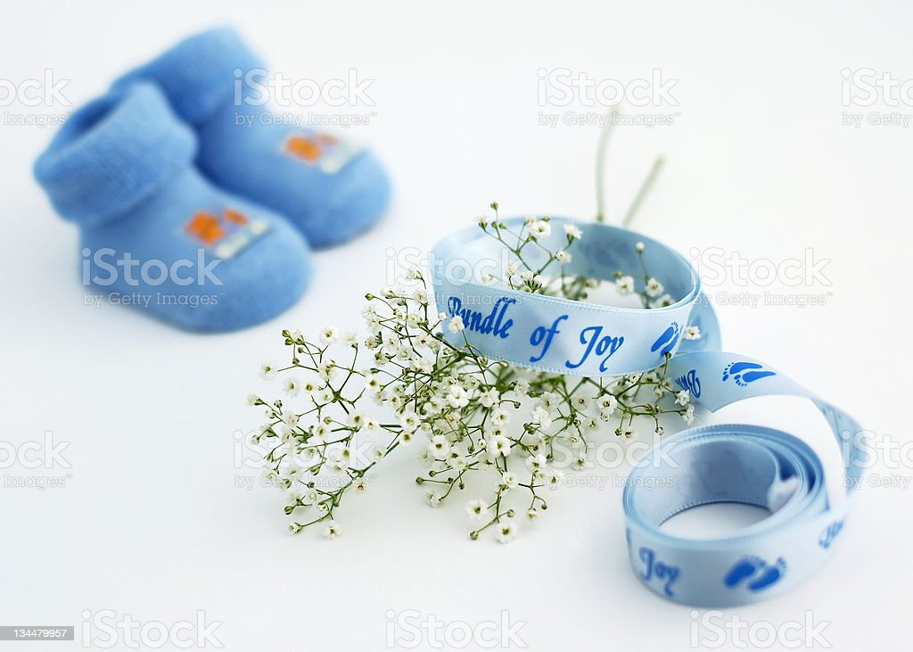 Blue for boys royalty-free stock photo