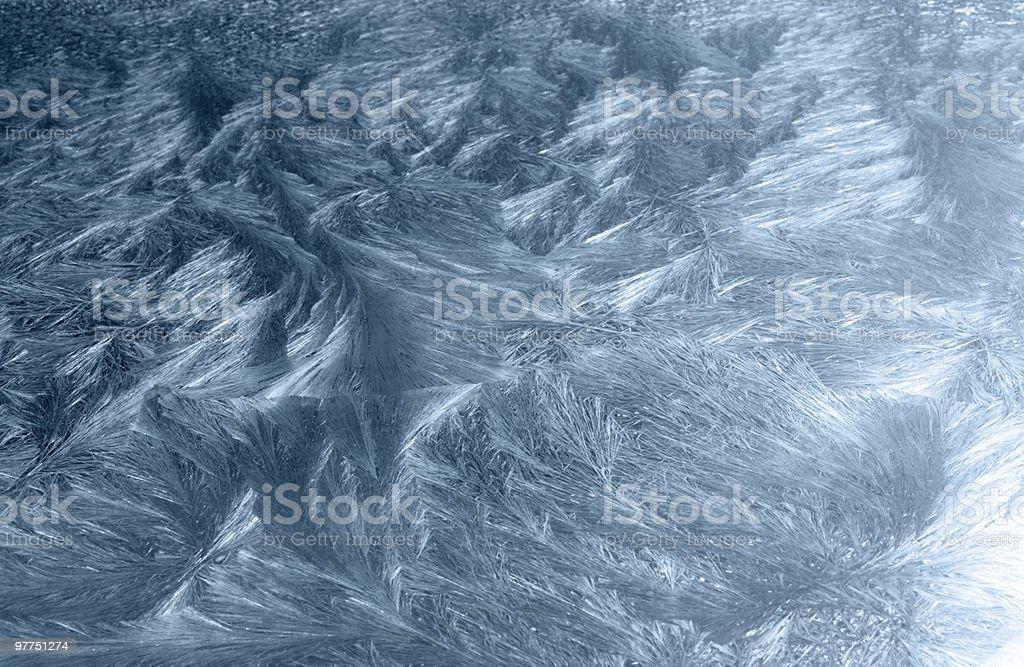 blue frosty background royalty-free stock photo