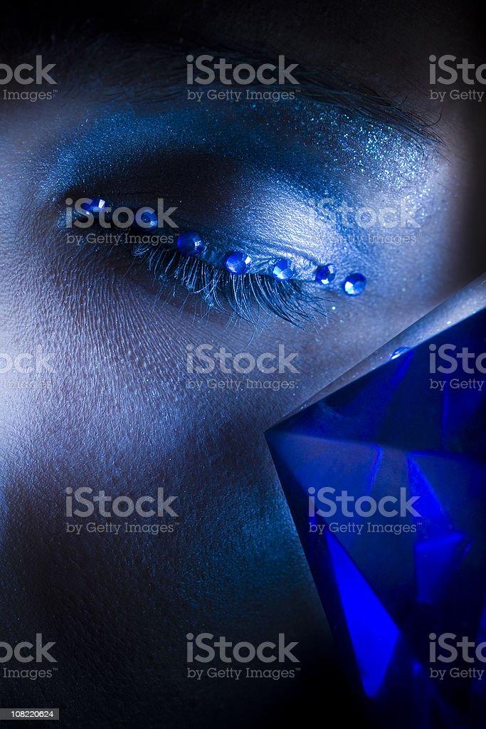 Blue Gems royalty-free stock photo