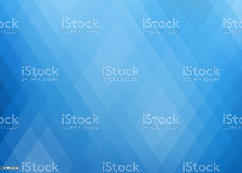 A blue geometric abstract background concept stock photo