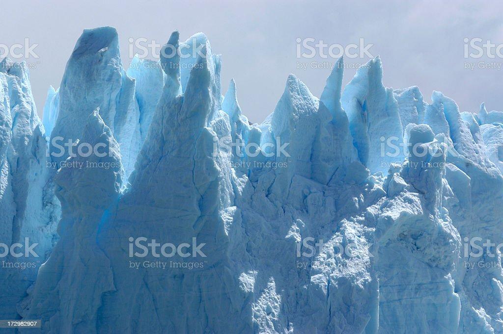 Blue Glacier 2 royalty-free stock photo