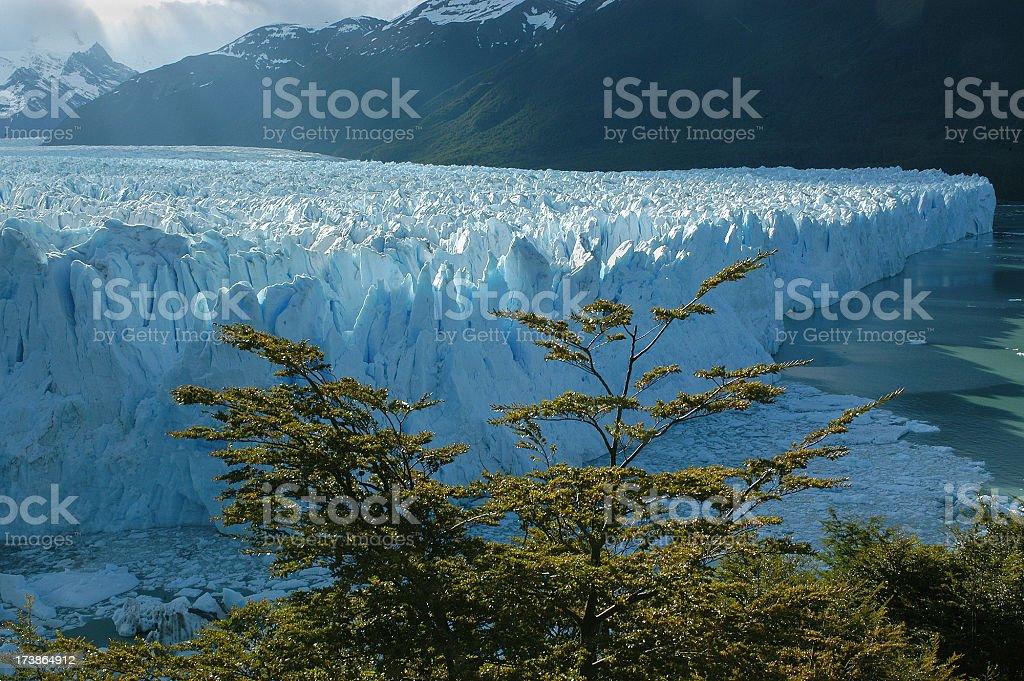 Blue Glacier royalty-free stock photo