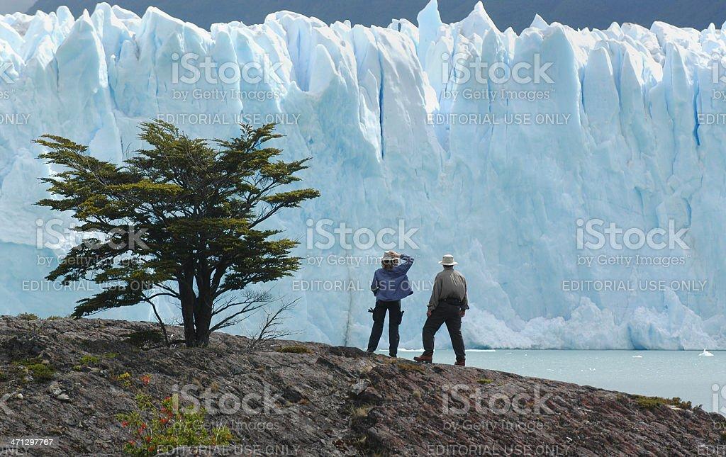 Blue Glacier stock photo
