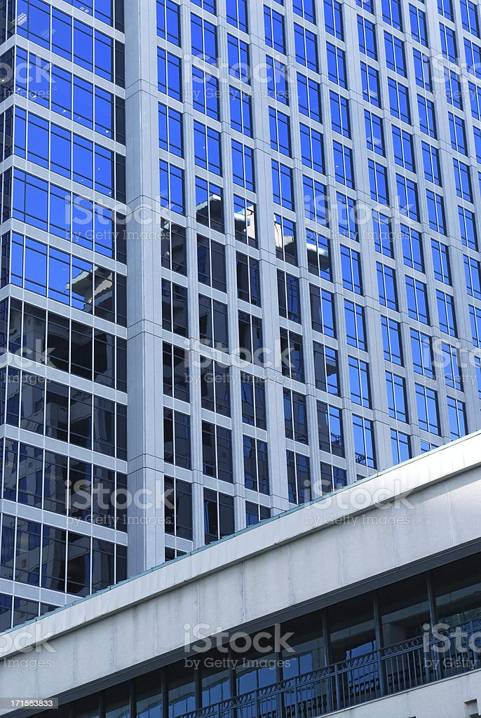 blue glass building royalty-free stock photo