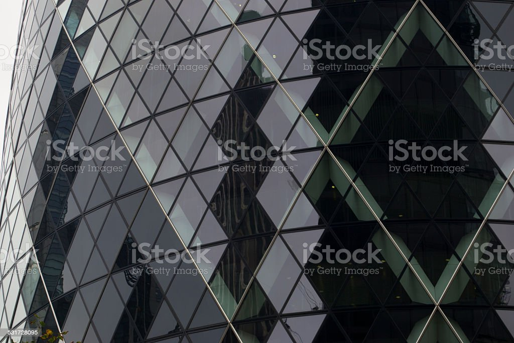 blue glass wall royalty-free stock photo