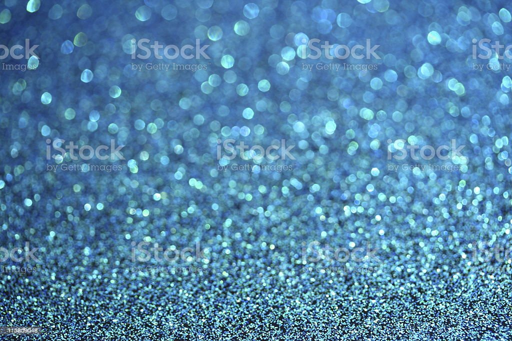 Blue glitter royalty-free stock photo