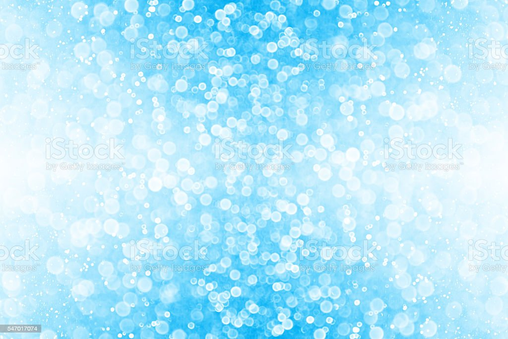 Blue Glitter Sparkle Background stock photo