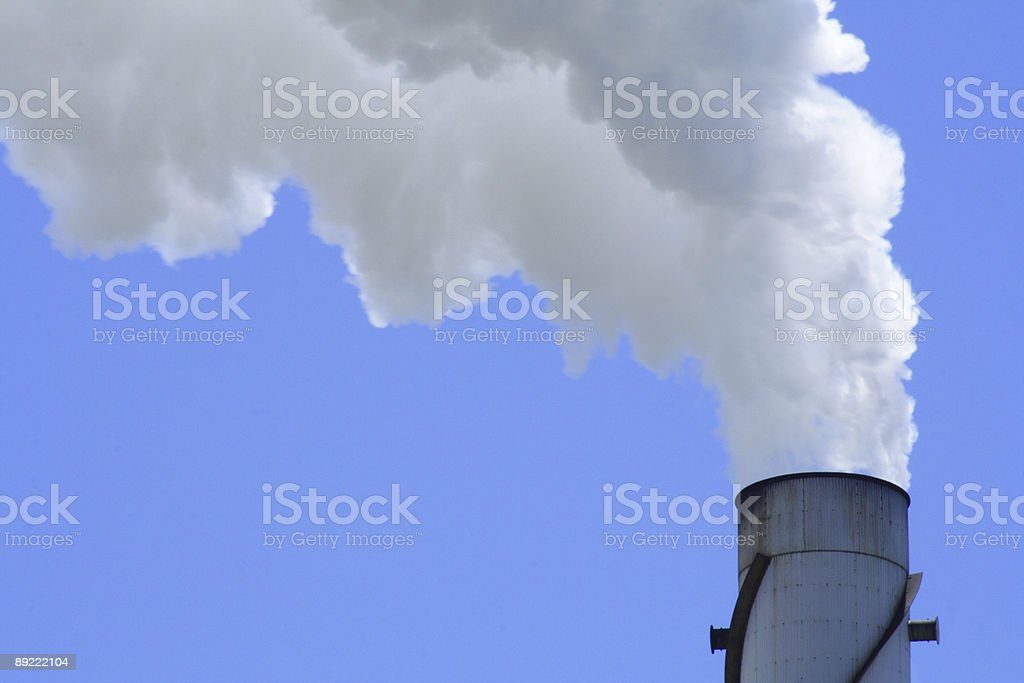 blue global warming royalty-free stock photo