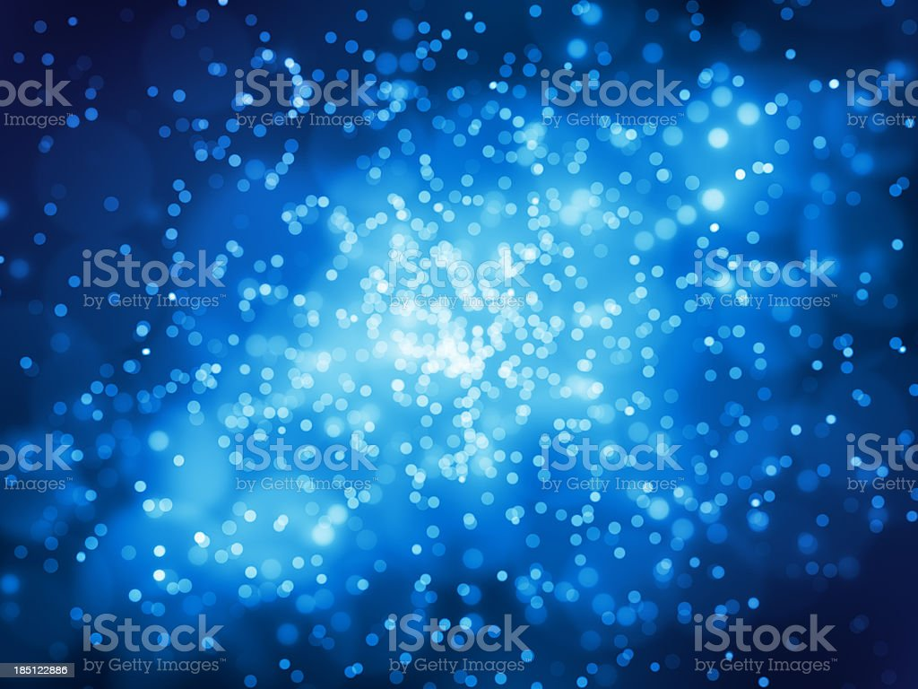 Blue Glowing Background Light royalty-free stock photo