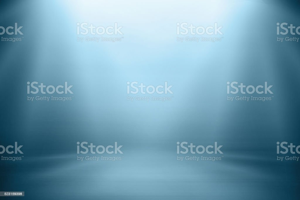 Blue gradient blurred abstract background. stock photo