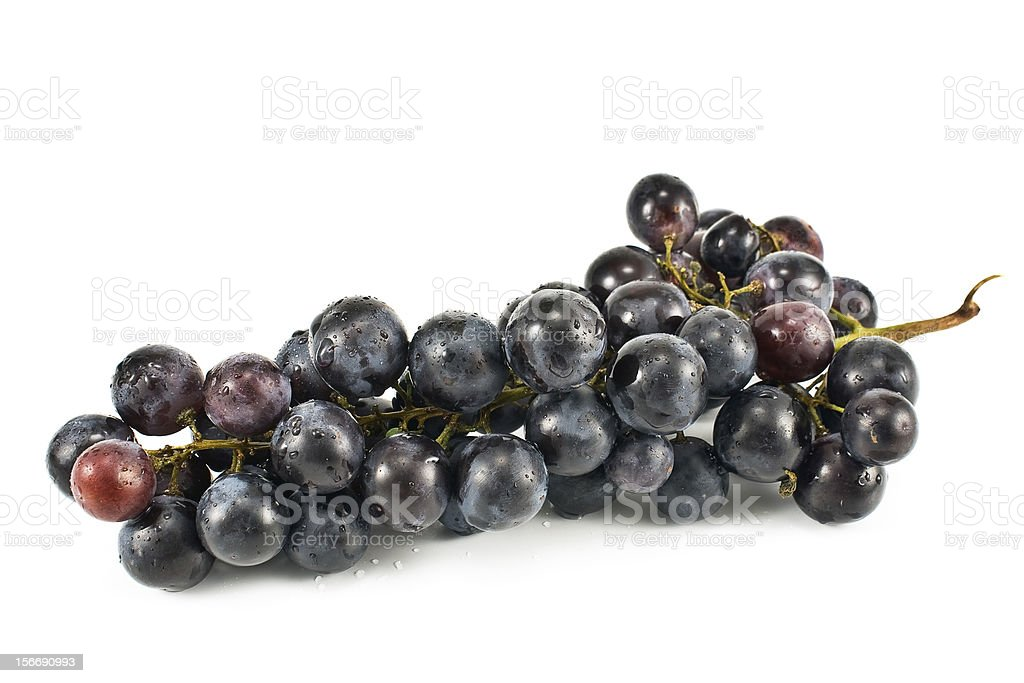 Blue grape royalty-free stock photo