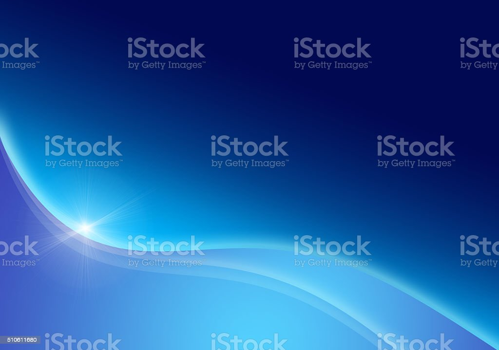 Blue graphic background design - Stock Image stock photo