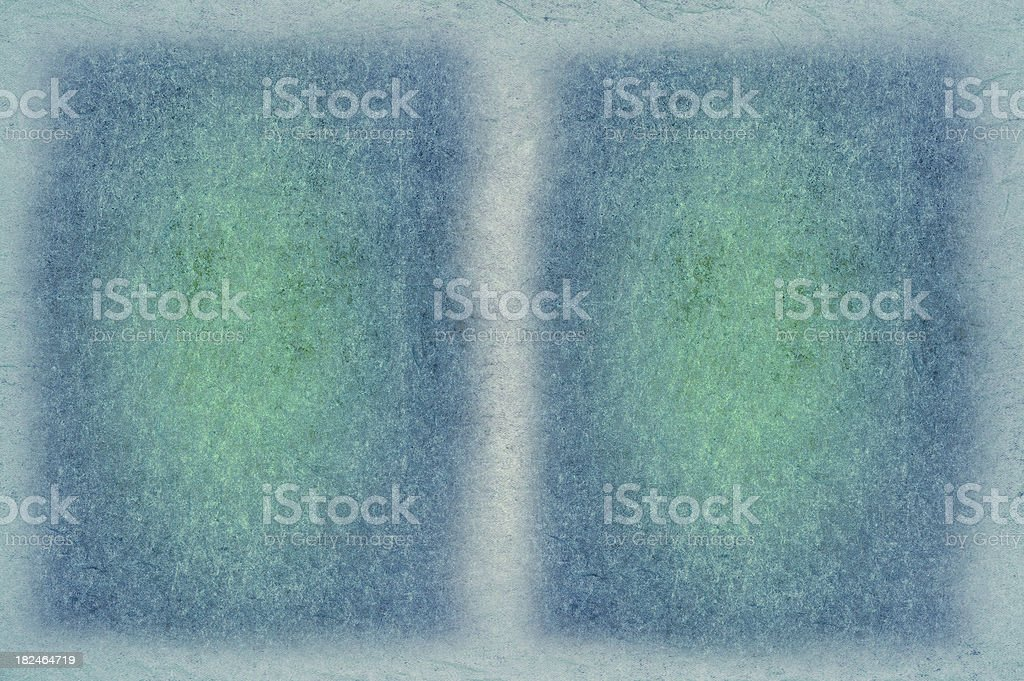 Blue Green Abstract Framed Background royalty-free stock photo